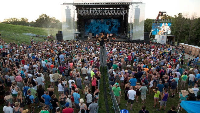 Brandi Carlile performed in 2015's Hinterland Music Festival in St. Charles. Willie Nelson is among the performers scheduled for the 2016 Aug. 5-6 event.