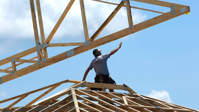 The building recovery has exacerbated a shortage of construction workers.