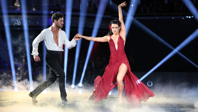 Valentin Chmerkovskiy and Rumer Willis, the season 20 winner, both appeared on the most recent tour.