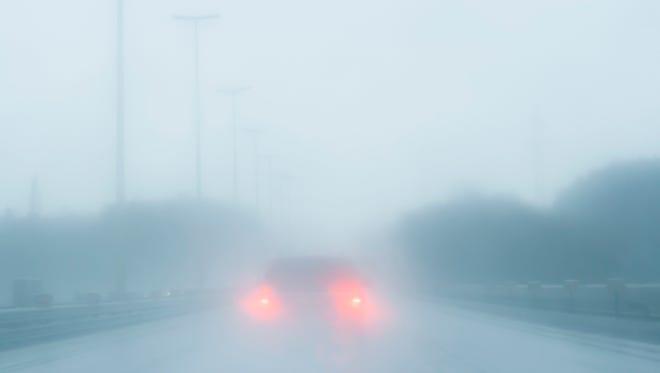 Fog advisory in effect Wednesday morning.