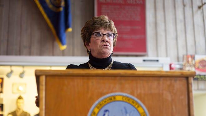 Broome County Executive Debbie Preston