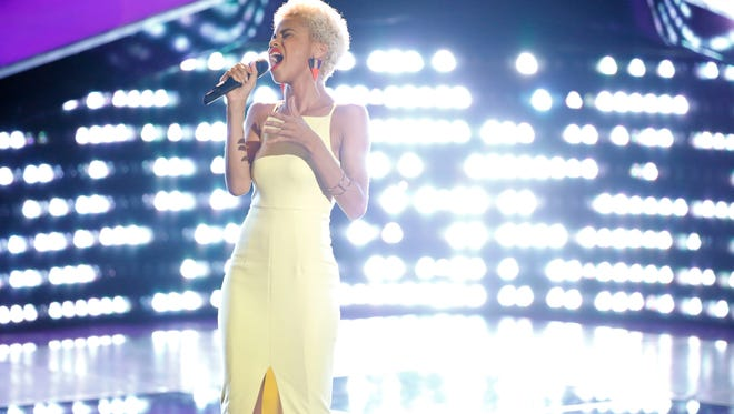 """Delaware singer Nadjah Nicole is set to return to national television Tuesday night on  NBC's """"The Voice."""""""