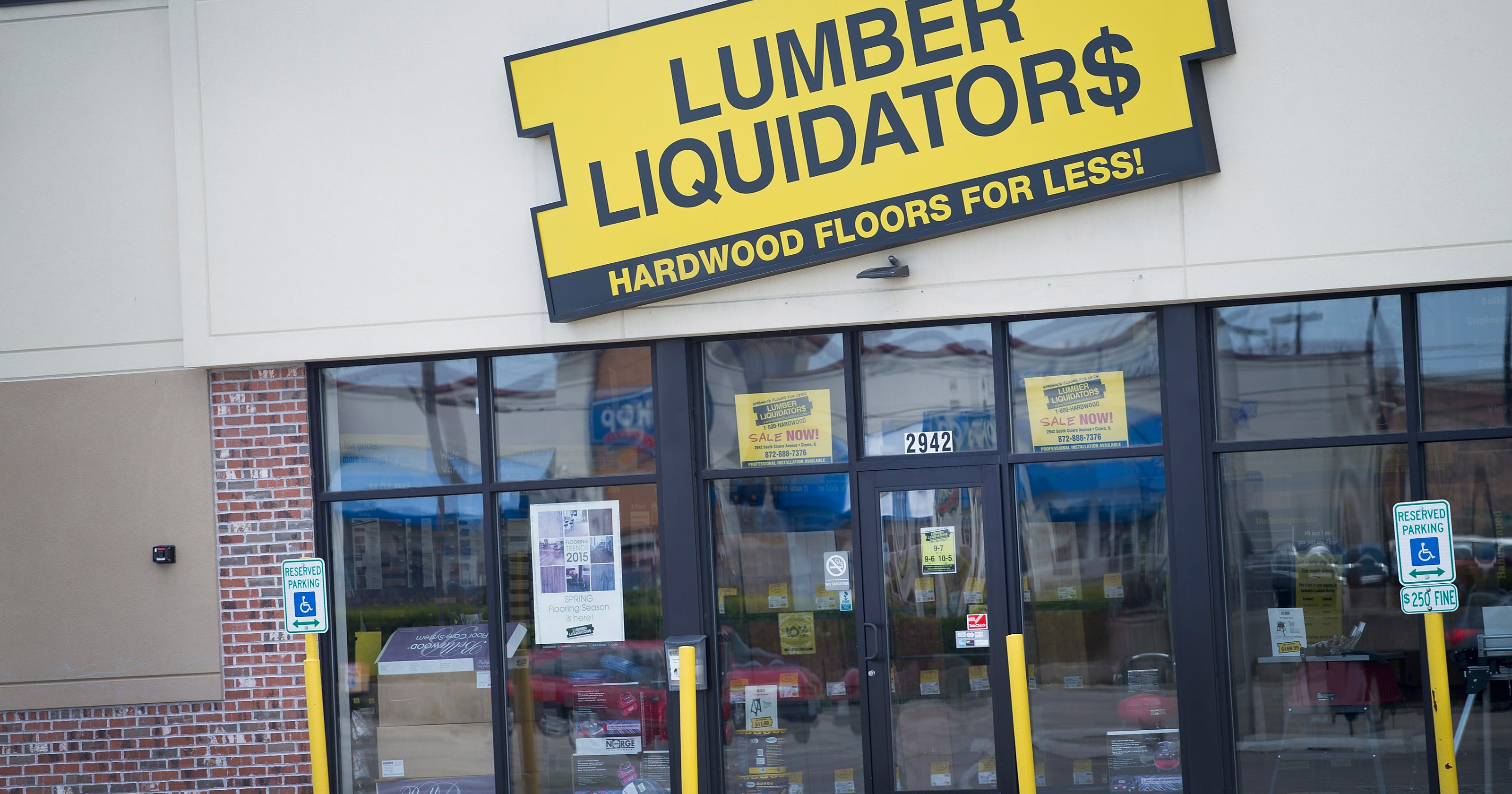 CDC: Elevated cancer risk in Lumber Liquidators laminate