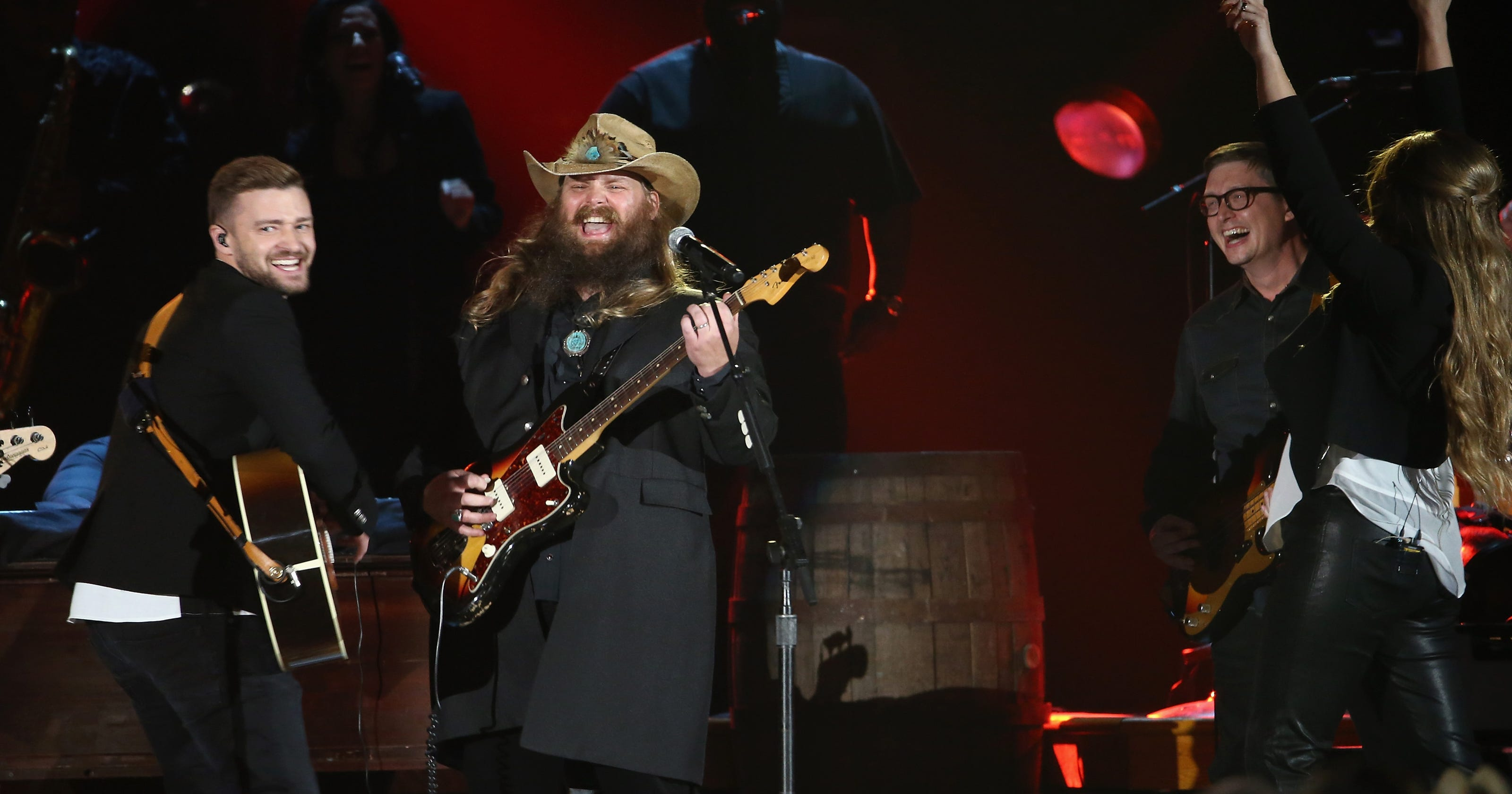 Justin Timberlake and Chris Stapleton stole the CMA Awards