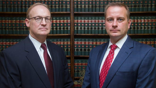 Broome County District Attorney-Elect Steve Cornwell, right, has named Mike Korchak to serve as his chief assistant district attorney.