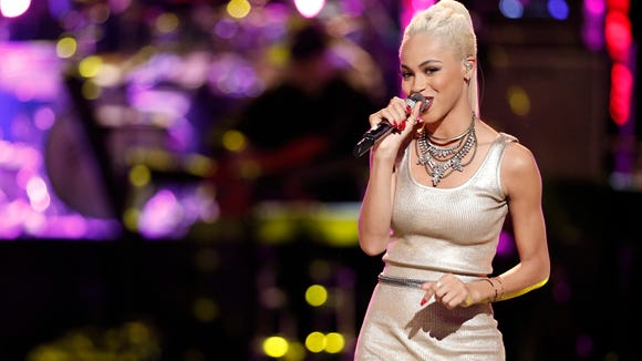 Delaware's Nadjah Nicole will learn if she advances as one of the final top 12 contestants Wednesday night at 8 p.m. on NBC.