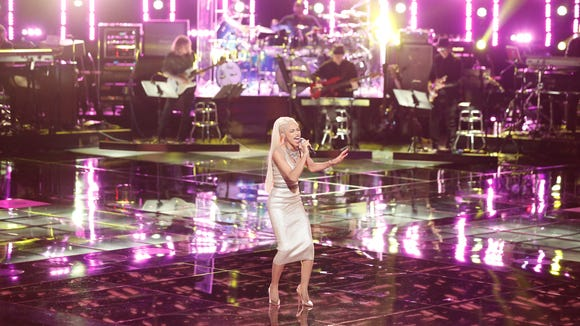 """Country star Blake Shelton brought Delaware's Nadjah Nicole back to """"The Voice"""" after she was axed last week."""