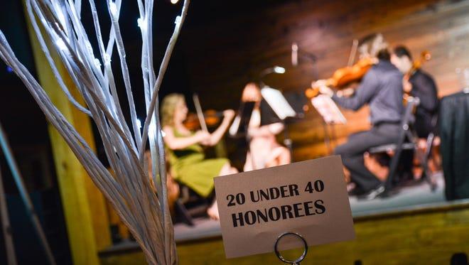 The 20 under 40 awards. Lafayette, LA. Nov 19, 2015