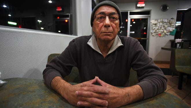 Anwar Khoshaba, owner of Giant Burger, poses for a portrait in his restaurant in Reno on Nov. 17, 2015. Khoshaba was born and raised in Syria, and emigrated to the United Stated in 1975 and moved to Reno in 1977.
