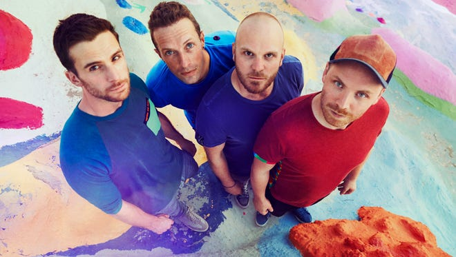 Guy Berryman, Chris Martin, Will Champion and Jonny Buckland are out with a new album, 'A Head Full of Dreams,' on Dec. 4.