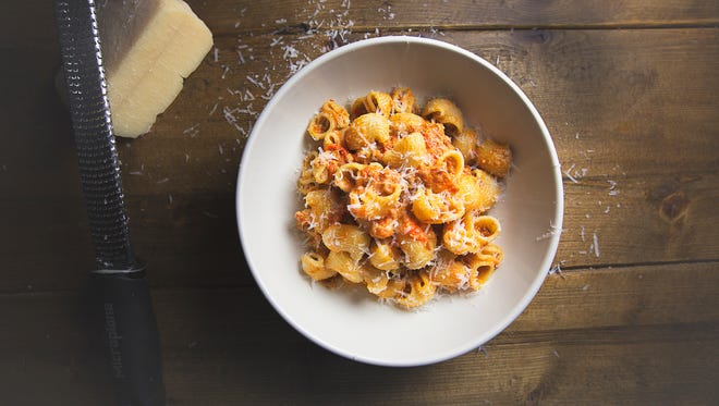 Lumache Bolognese, on the lunch menu at Sotto