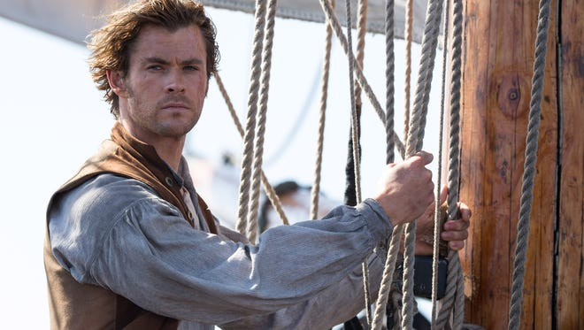"Chris Hemsworth stars in ""In the Heart of the Sea."" The movie opens in  theaters Friday, Dec. 11."