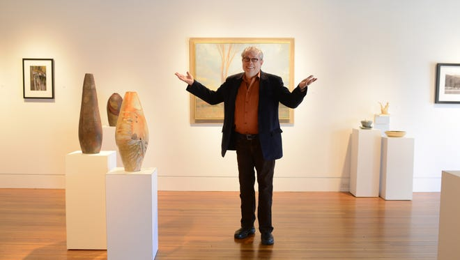 John Cram founded Blue Spiral 1, a downtown art gallery, 25 years ago. He's pictured here in 2013.