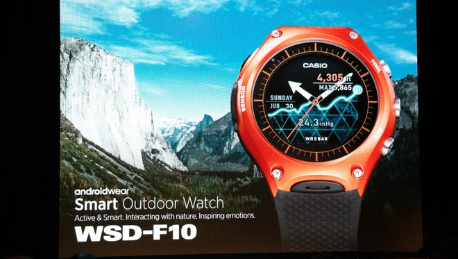 The smart watch suited to mountain men and triathletes alike.