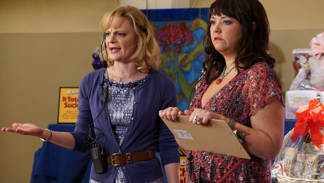 Martha Plimpton and Mary Hollis Inboden star ABC's 'The Real O'Neals.'