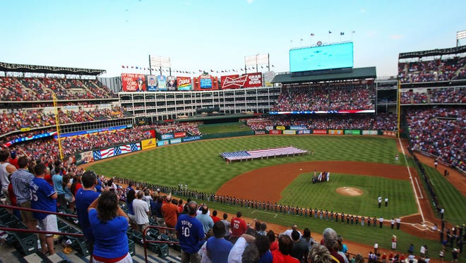 There is talk of the Texas Rangers wanting a new stadium.