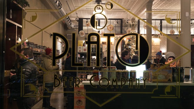 Located on Cass Avenue, 8 Degrees Plato Detroit was a new participant in the Noel Night celebrations on Saturday, Dec. 5, 2015 in Detroit's Midtown.