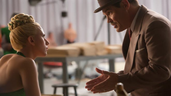 "Scarlett Johansson and Josh Brolin in ""Hail, Caesar!"""
