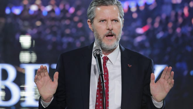 Liberty University President Jerry Falwell Jr.