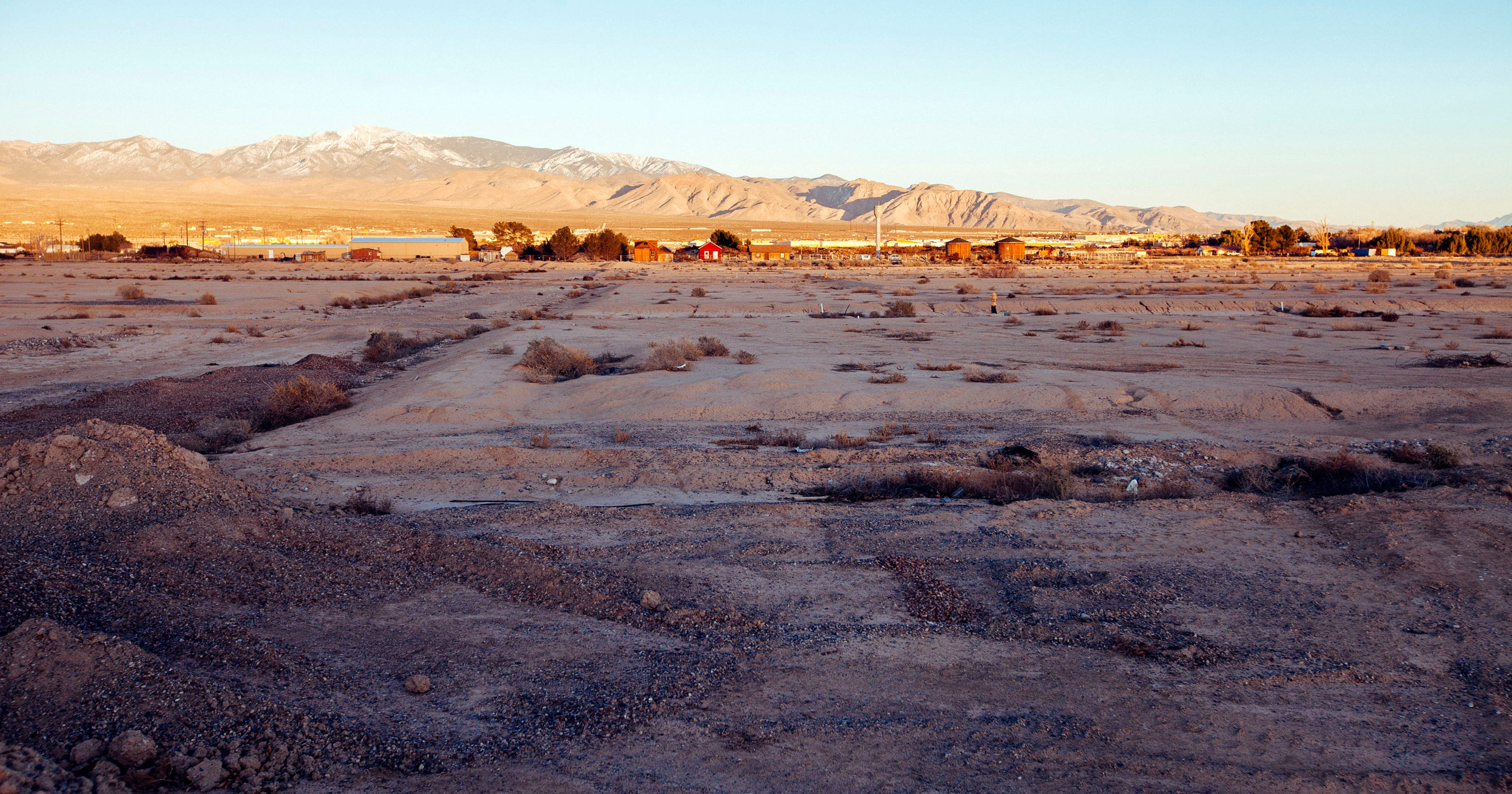 Slow recession recovery leaves Pahrump with wide open spaces
