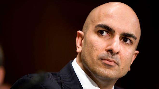 As head of a regional Federal Reserve bank, Neel Kashkari is making headlines by talking tough on banks.
