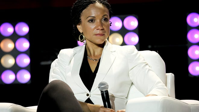 Melissa Harris-Perry attends the 2014 Essence Music Festival Concert on July 4, 2014, in New Orleans.