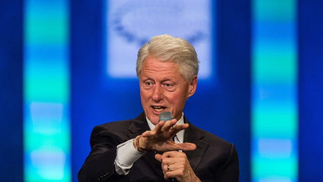Bill Clinton recently chowed vegan food from Plant restaurant while stumping for his wife in Asheville.