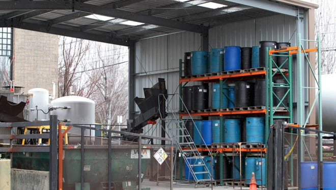 Bullseye Glass, a business suspected of releasing toxins in Portland, Ore.