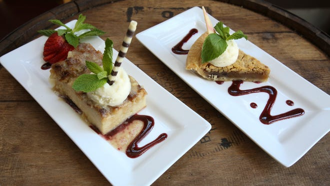 The Bread Pudding and Kentucky Derby Pie served at the Derby Cafe.Apr. 12, 2016