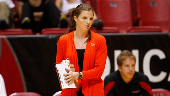 Ball State's Kelli Miller was named head women's volleyball coach Thursday afternoon.