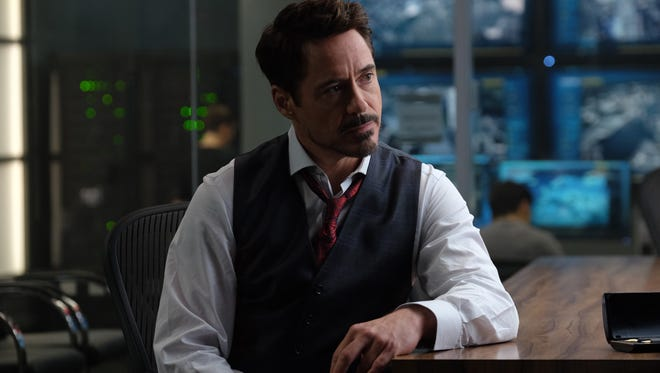 Robert Downey, Jr. as Tony Stark in 'Captain America: Civil War.'