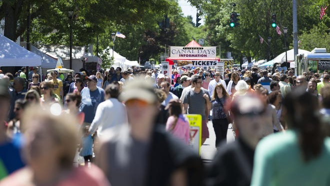 Fairport Canal Days, which draws hundreds of thousands of people to the village, happens Saturday and Sunday, and there's a kick-off party Friday night.