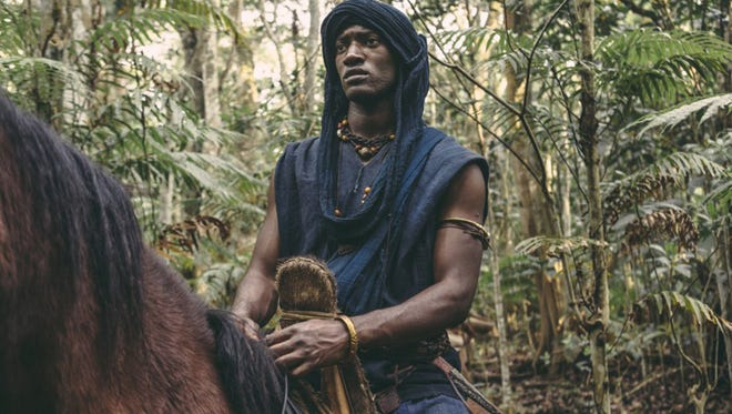 """Malachi Kirby in """"Roots."""" (History Channel)"""