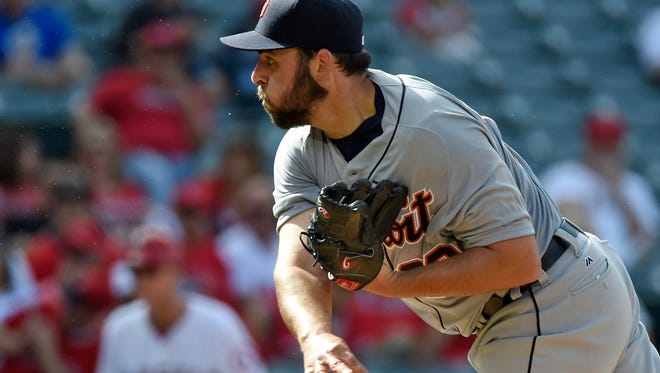 Michael Fulmer gave up two hits while striking eight and walking two in 7 2/3 innings.