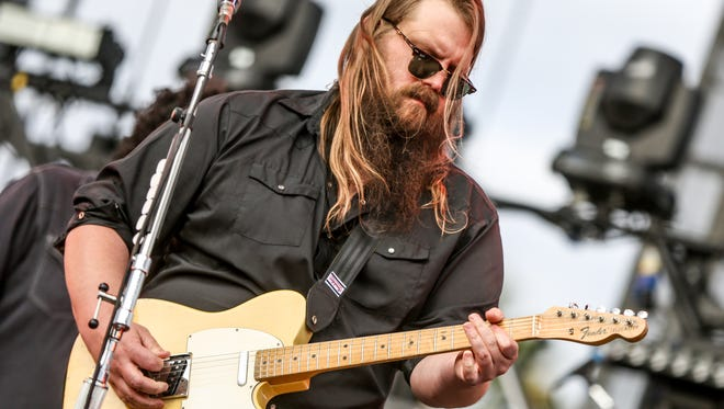 Breakout country star Chris Stapleton will be among the performers at this year's Bonnaroo festival, going onstage at 4 p.m. Saturday, June 11.