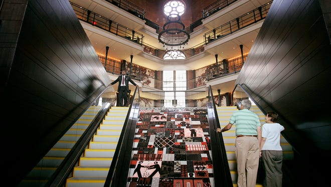 Liberty Hotel in Boston was built as a jail between 1848 and 1851 and converted into a luxury hotel through a five year, $150 million renovation project.