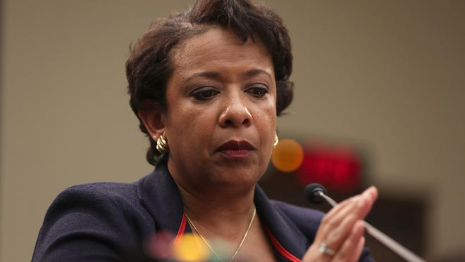 Attorney General Loretta Lynch testifies during a hearing before the House Judiciary Committee on July 12, 2016, on Capitol Hill.