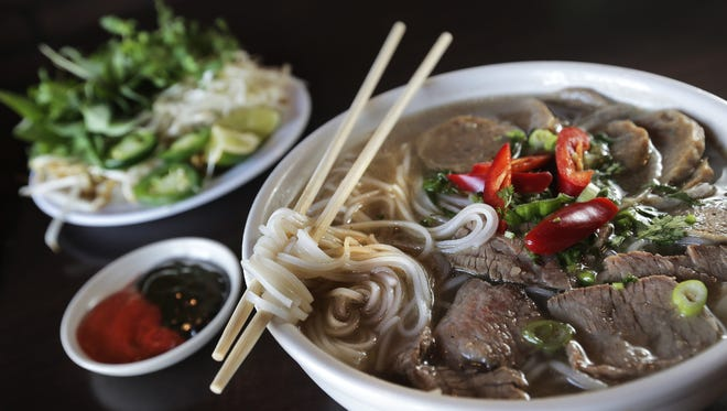 The Pho is a favorite among patrons at the Asian Cajun Café at 3233 N. Mesa. The Vietnamese restaurant offers both Asian and Cajun meals.