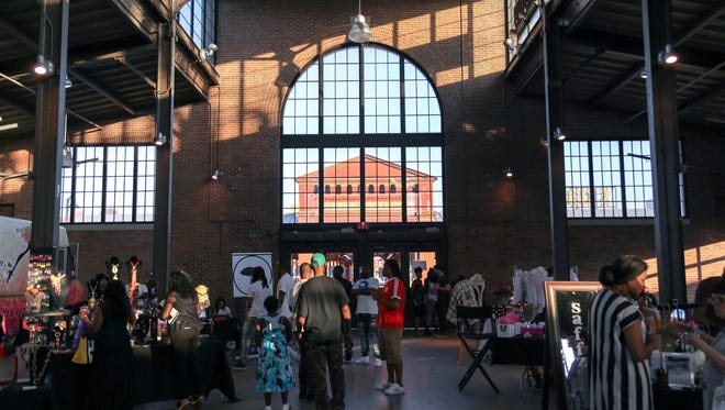 Shed 3 in Detroit's Eastern Market, Sunday, May 22, 2016.