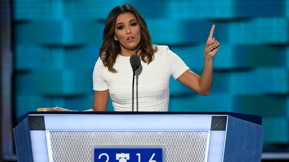 Longoria had some fightin' words for the Republican