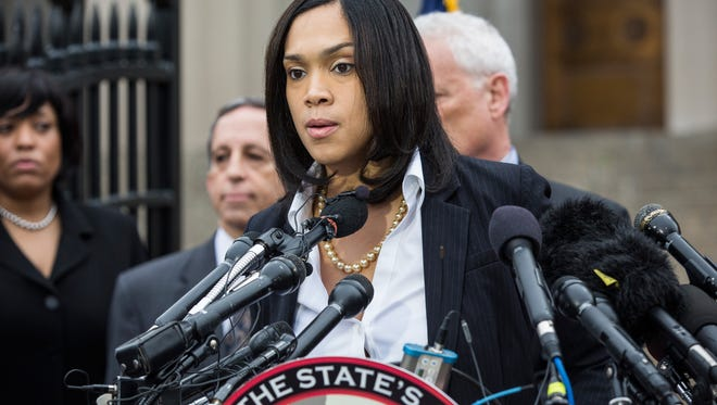 Baltimore City State's Attorney Marilyn Mosby announces that criminal charges will be filed against  police officers in the death of Freddie Gray in 2015.