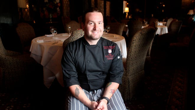 Andrew Welenken is the new chef de cuisine at The Brown Hotel's English Grill.