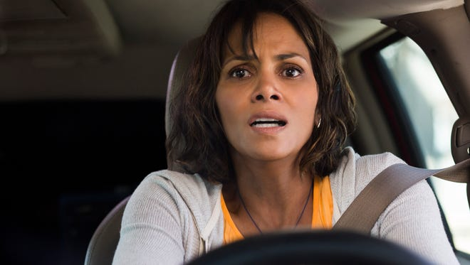 Halle Berry is a terrified mom behind the wheel in 'Kidnap.'