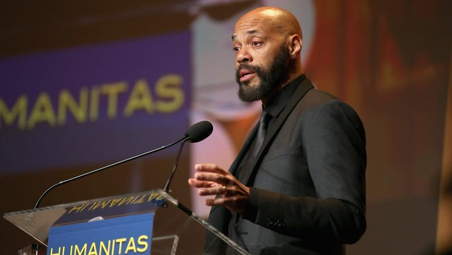 Screenwriter John Ridley, shown accepting the Kieser Award at the 41st Humanitas Prize Awards Ceremony in Los Angeles in February, has joined the board of directors of Milwaukee Film.