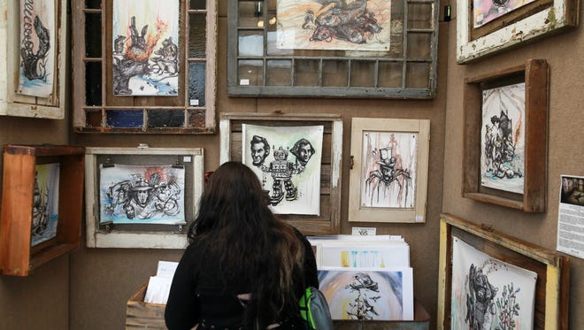 The work of 140 juries artists will be on display at the 2016 edition of Arts, Beats & Eats.