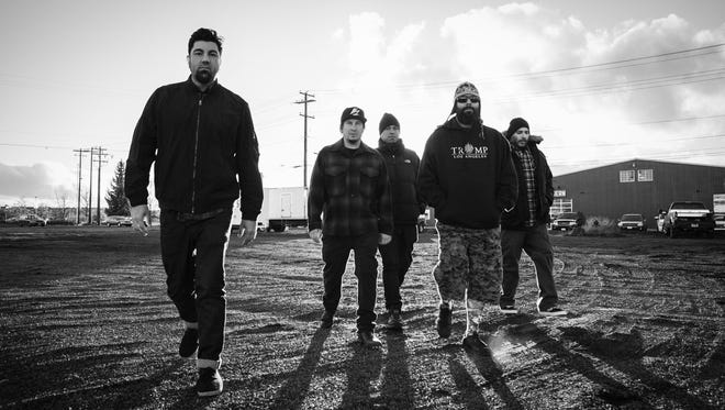 The Deftones are playing a show Wednesday, Aug. 31, 2016, in Mesa.