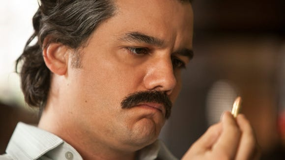 Moura stars as Pablo Escobar in Netflix's 'Narcos.'