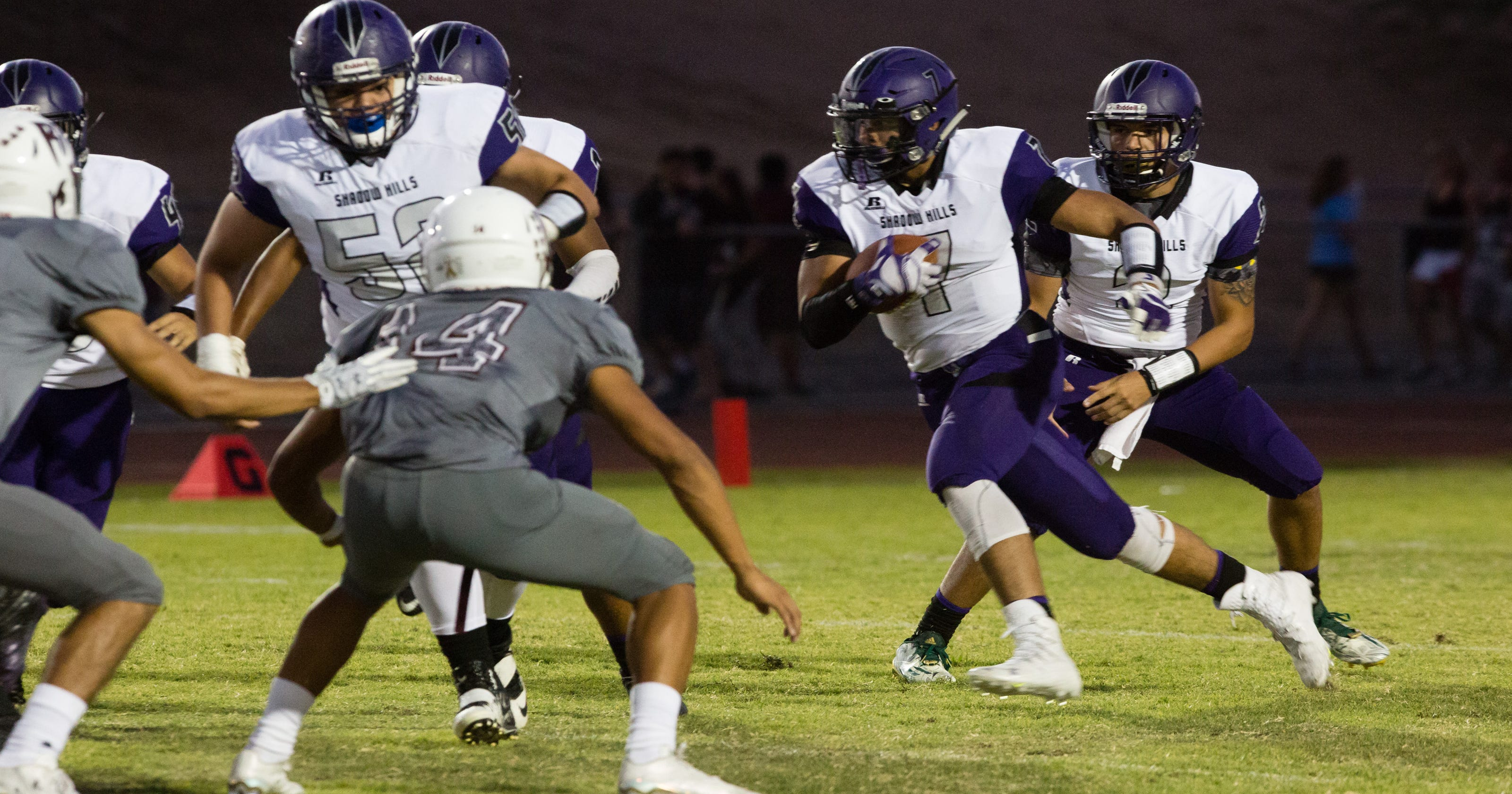 Injury doesn't prevent Shadow Hills football star from