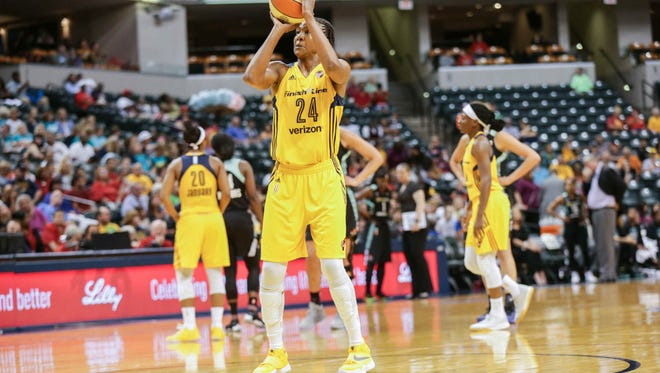 Tamika Catchings is closing in on the WNBA's all-time rebounding mark.