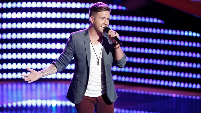 """Billy Gilman sings on NBC's """"The Voice."""""""